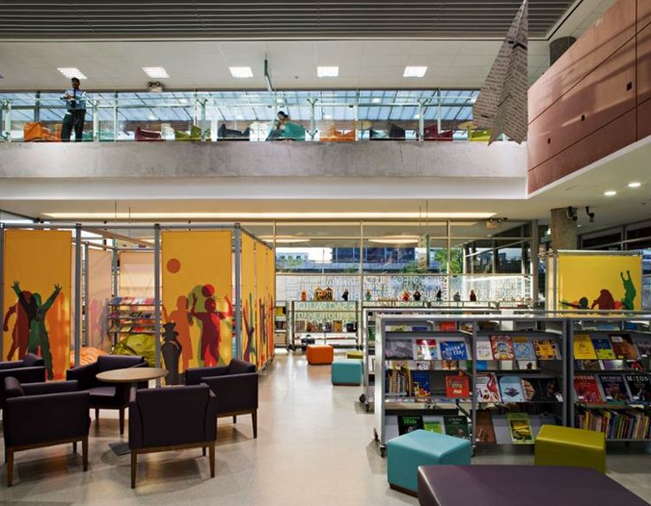 Public Library For Children And Young People Located In An Old Prison Region Of Sao Interior Design EducationYoung