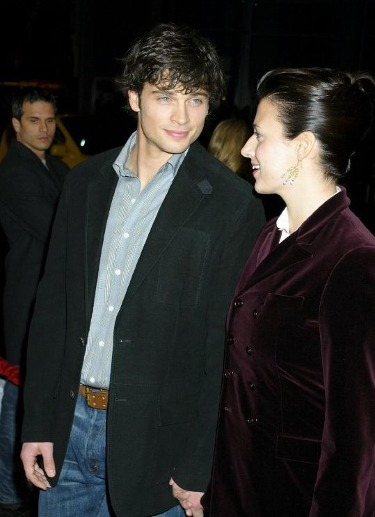 TOM WELLING JAMIE AT CHEAPER BY THE DOZEN-2 PREMIERE | Tom ...