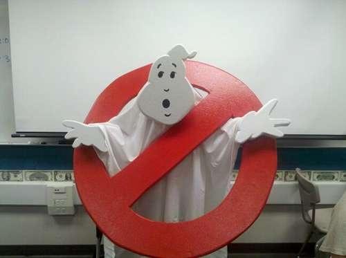 DIY Ghostbusters Costume