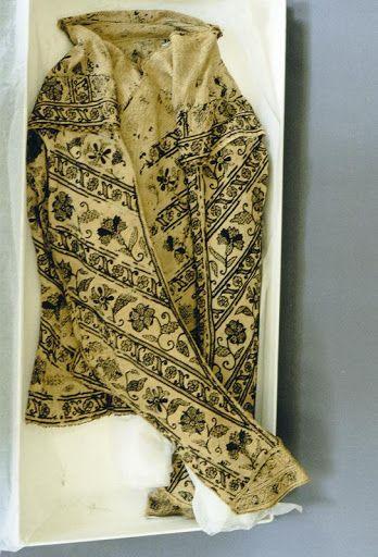 Elizabethan blackwork jacket