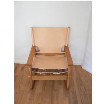 Danish Safari Rocking Chair by Kai Winding, circa 1961