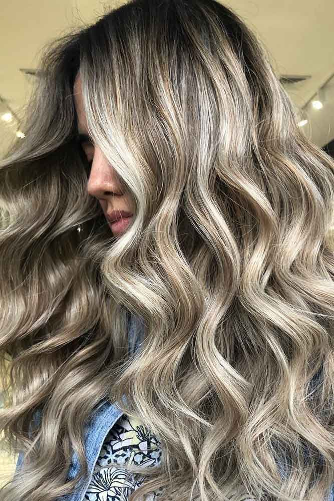 Hot Looks With Ash Blonde Hair And Tips Ash Blonde Balayage Ash