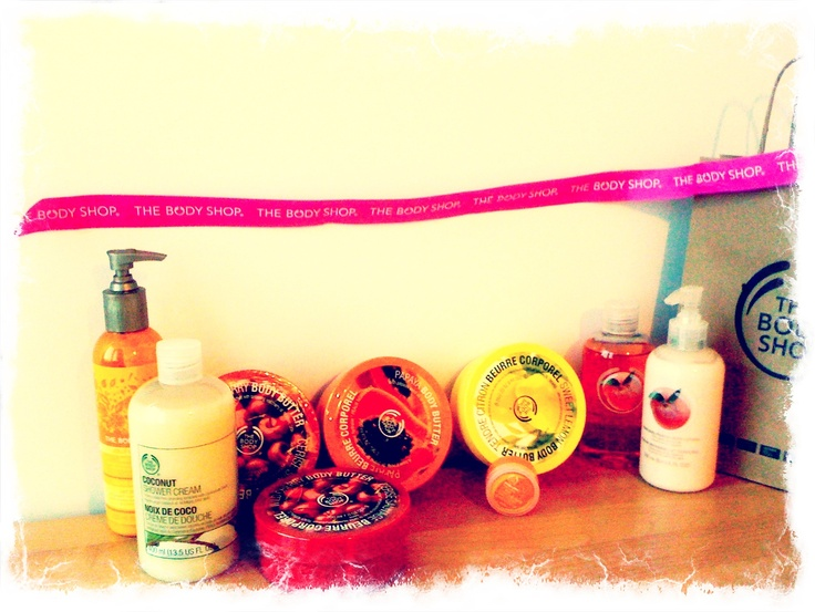 Autor: Maja Be  The Body Shop Home Edition! :) Poznań <3 <3 <3