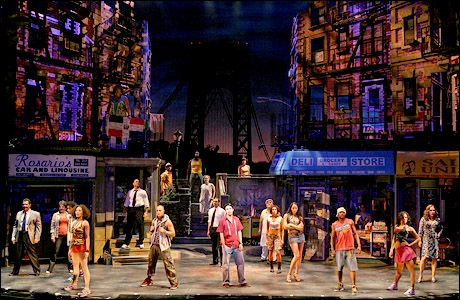 In the Heights. I loved seeing this. It's the best show I've seen live.
