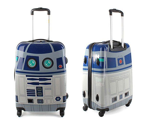 R2-D2 Robot Trolley Case: Rolls Luggage, R2D2 Rolls, Stars War, R2D2 Suitca, R2D2 Luggage, R2 D2 Suitca, Awesome Pin, Random Pin, Starwars
