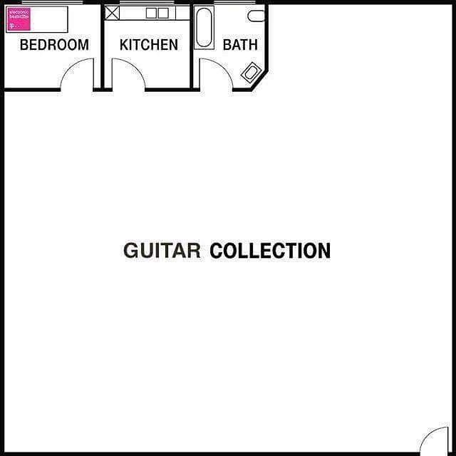 A house plan for the necessities. #priorities #guitar #Studio33Guitar