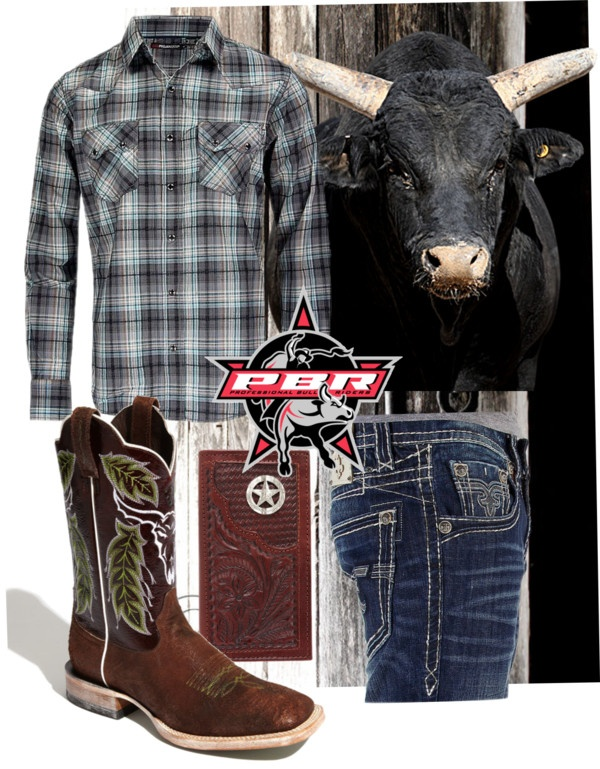 """cowboy jeans button up shirt boots!! every guy should look like this"" by fiddlegrass-ashley on Polyvore"