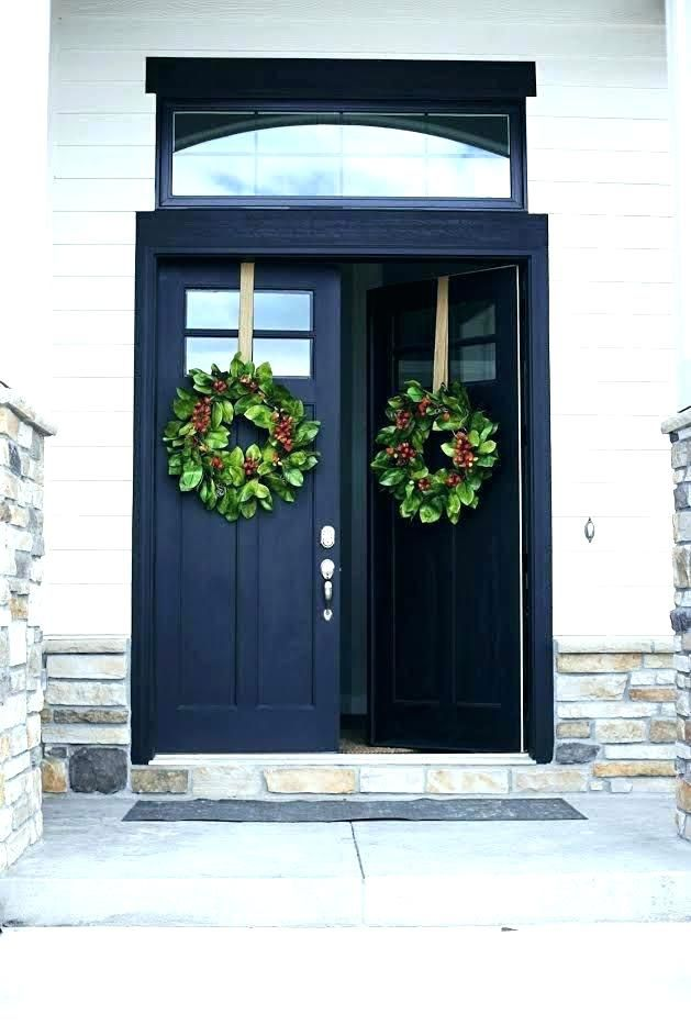 Lowes Exterior Doors With Windows – Top of the line exterior door constructed from a combination of fiberglass and wood.