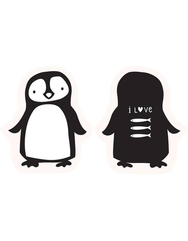 a little lovely company | penguin cushion