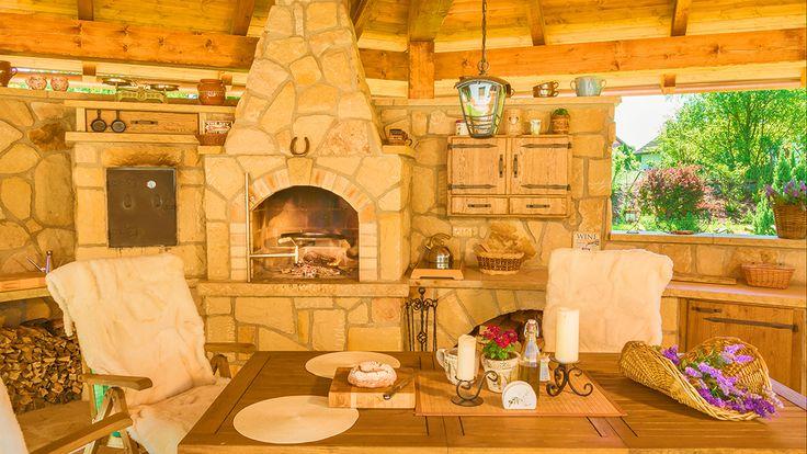 Kamenná kuchyně La Provence pohled 10