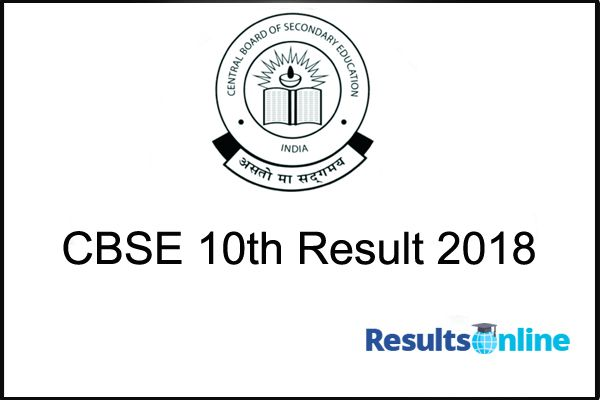 CBSE 10th Results 2018: The Central Board Of Secondary Education is