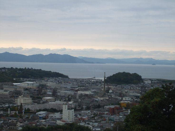 Mimamata bay/ Bahía de Minamata donde se descubrió la enfermedad de Minamata.