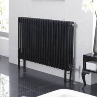 industriële zwarte radiator
