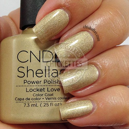 CND Shellac Modern Folklore Collection - Locket Love - swatch by Chickettes.com