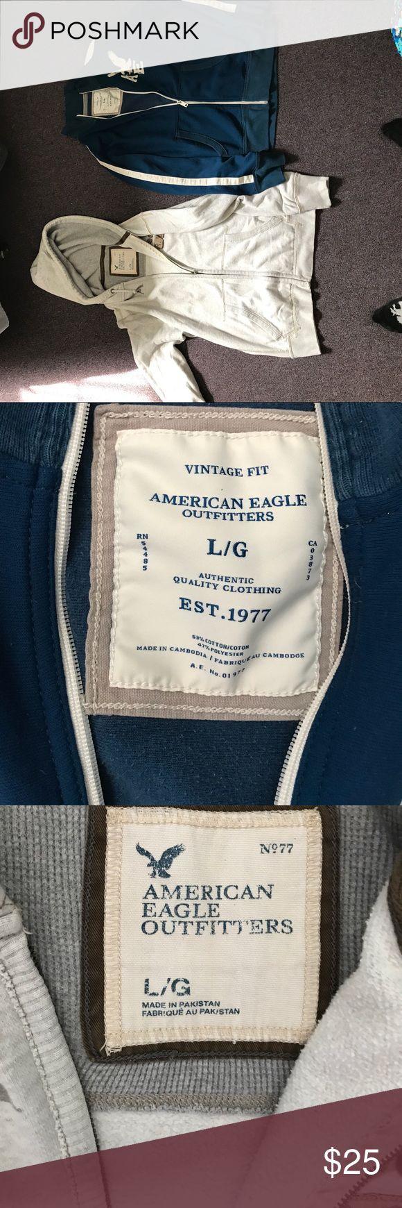 American Eagle sweatshirt bundle Size large sweatshirt bundle. Good condition make an offer American Eagle Outfitters Shirts Sweatshirts & Hoodies