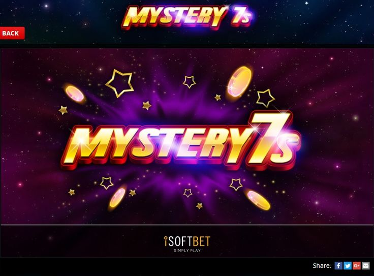 Enter the World's finest Casino and feel the thrill and excitement of 24/7 live play! https://www.megajackpot.com/games/mystery_7s/?ref=pinterest