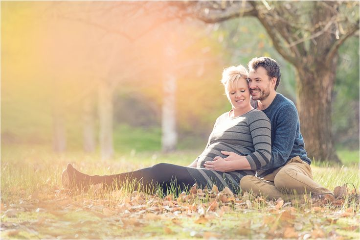 So much happy! Maternity photography, autumn, Adelaide, romantic, couple, pregnancy, pastel, sitting pose, pregnancy, back lit, soft.
