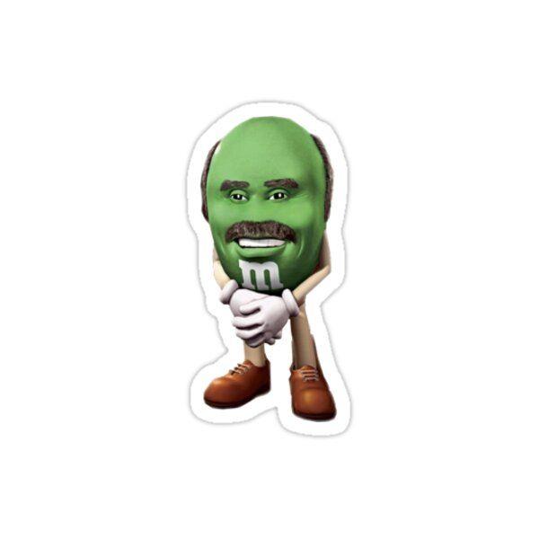 Dr Phil M M Meme Sticker Sticker By Benhutson27 In 2021 Meme Stickers Homemade Stickers Hydroflask Stickers