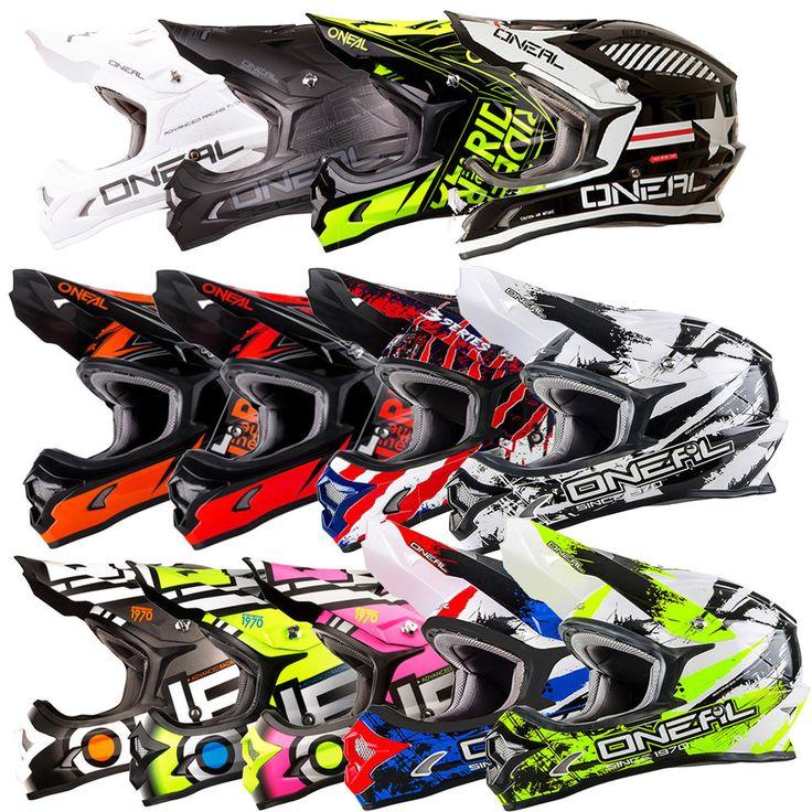 Oneal 3 17 Series ADULT Motorbike Motorcross Helmet Ass Colors S XS-3XL