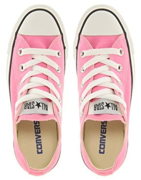 Pink converse for the summer.