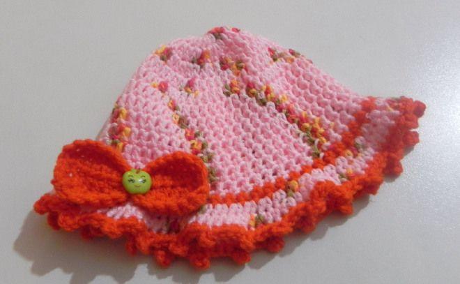 Cappellino NEONATO in pura lana