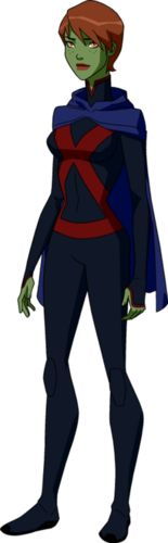 miss martian young justice invasion - teen-titans-vs-young-justice Photo