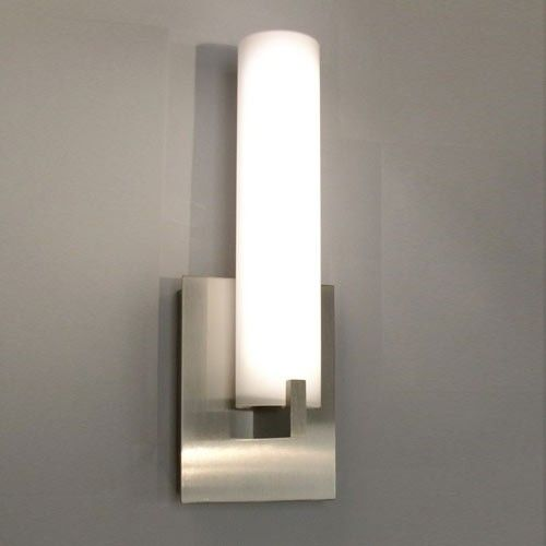 Illuminating Experiences Bath series - wall mounted vertical sconce. The Elf design is ...