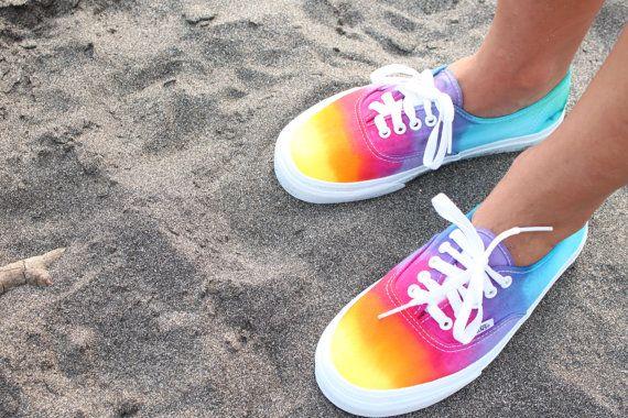 SALE The Original Custom Tie Dye Vans Shoes