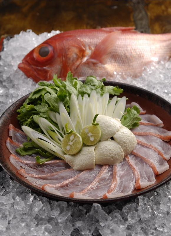 魚々家むてきメニュー・刺身