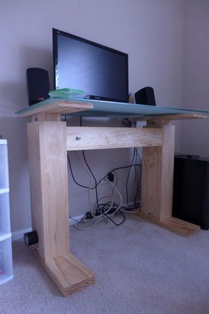 How To Build An Electric Height Adjustable Desk Diy Projects For