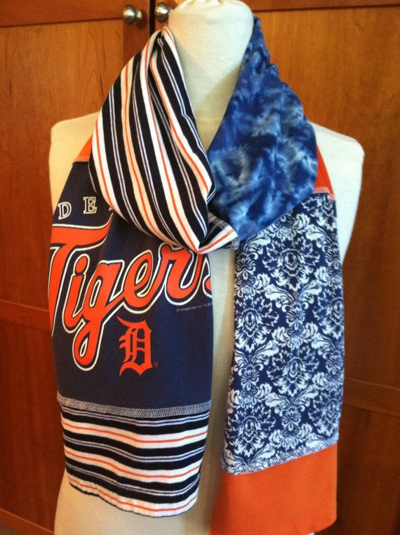Just listed 9 new Detroit Tigers scarves...