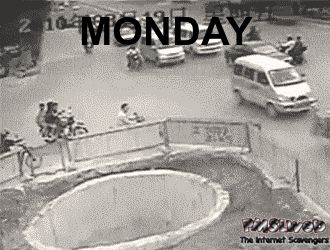 Daily funny pictures – Goodbye Monday blues | PMSLweb