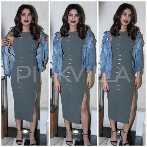 Chopra or Kardashian? Priyanka Chopra looks like the 6th Kardashian sister in this outfit!   PINKVILLA