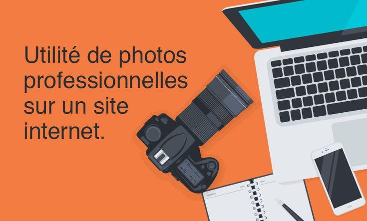 L'utilité de photos professionnelles sur un site internet
