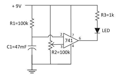 timer circuit diagram