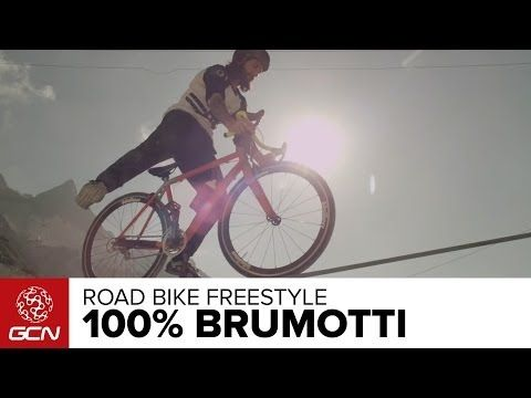 Even taken a road bike off-road? Italian trials superstar Vittorio Brumotti show what can be done.
