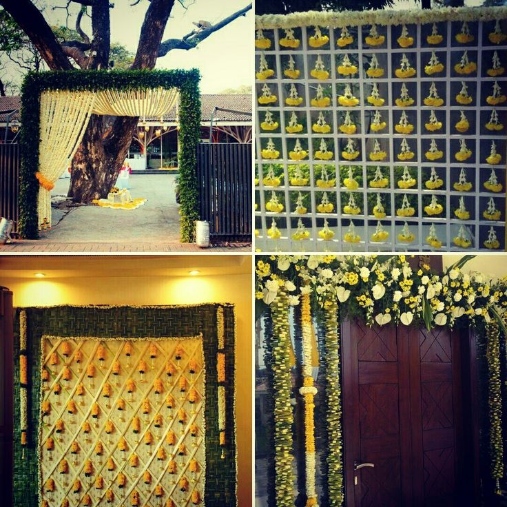 Wedding home and lawn decoration. Make memories with family and friends. Design your weddings with a mix of #traditional and cut #flowers #InspiredWeddingDecor #Kanpur