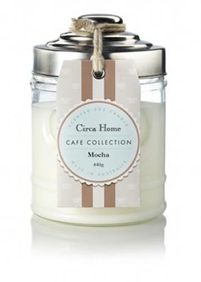 Circa Home Cafe Collection Mocha Candle