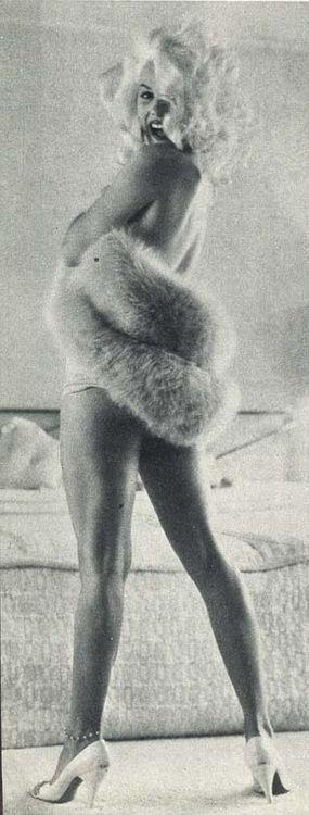 Mamie Van Doren photographed by Earl Leaf, 1957