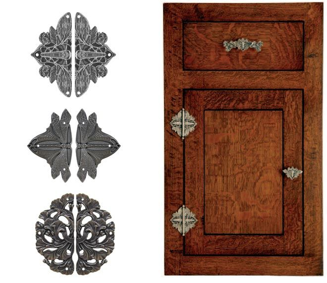 Society Hill Kitchen Cabinets: Notting Hill Decorative Cabinet Hinge Plates Add Just A