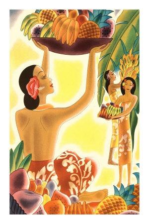 Vintage Hawaii Posters