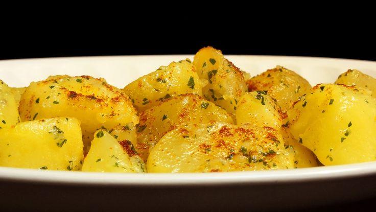 Varomeando: Patatas al ajillo