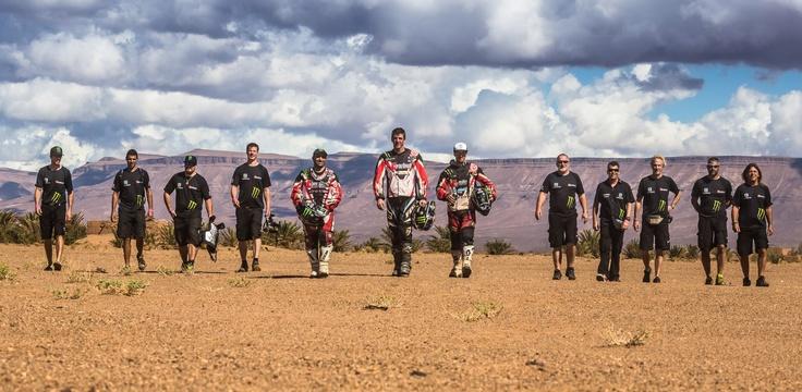The Husqvarna Rallye Team by Speedbrain