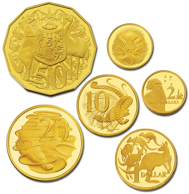 Royal Australian Mint Complete 2013 #Gold Proof Collection