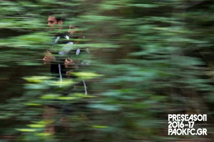 #Klaus και #Tziolis τρέχουν στην Ολλανδική φύση #Preseason #Oosterbeek #Holland #PAOK #ReadyToFight