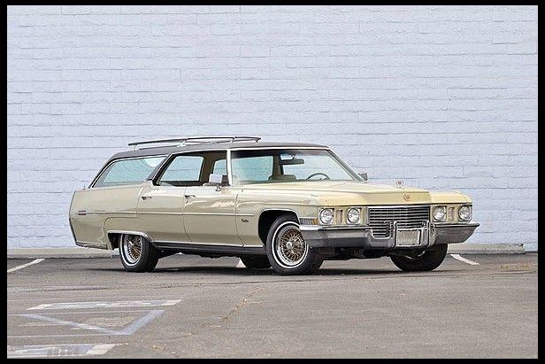 Elvis's Unique Cadillac Station Wagon For Sale