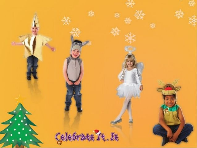 When Christmas time comes, children are all ready to get into fun and festivities of the season. Just visit our official website www.celebrateit.ie to get the best #Christmas and #nativitycostumes for your kids at attractive prices that won't burn a hole in your pocket as we are offering a 10% discount.
