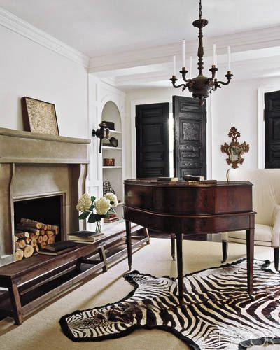 Darryl Carter's D.C. Townhouse - ELLE DECOR