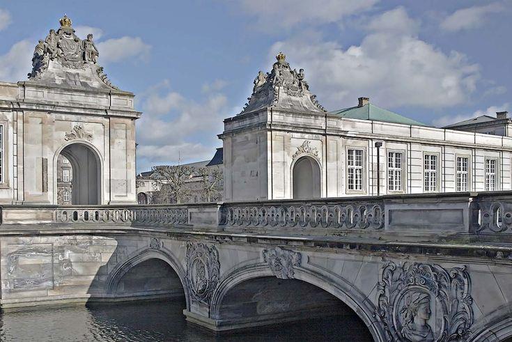 "Marmorbroen (""Marble Bridge""), Slotsholmen, Copenhagen"