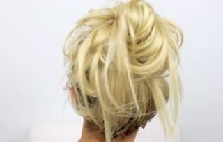 4 Easy No Heat Hair Styles: How To Do Messy Buns  @iwedplanner  http://www.iwedplanner.com/virtual-make-over/wedding-hairstyle-makeover/